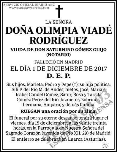 Olimpia Viadé Rodríguez